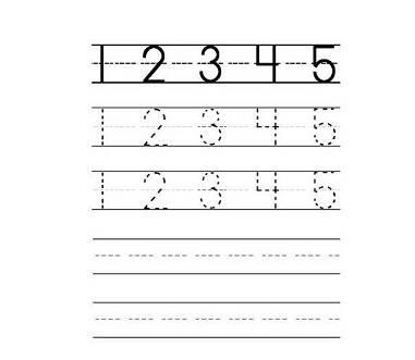 Wonderlijk Cijfers Leren Schrijven en Sommen | Werkbladen om te Printen. ZW-91